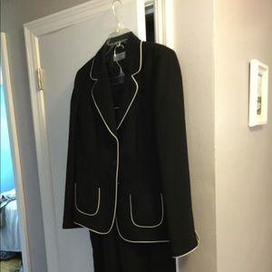 Black Tahari pantsuit